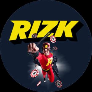 Rizk logo rund