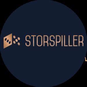 Storspiller logo rund
