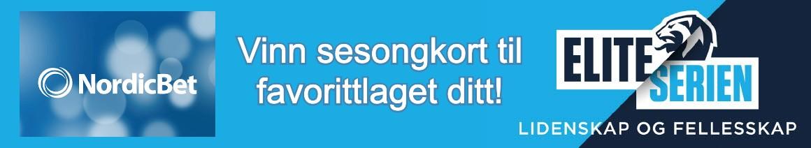 vinne sesongkort for eliteserien hos Nordicbet
