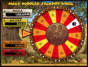 Jackpot spill hos Mega Moolha