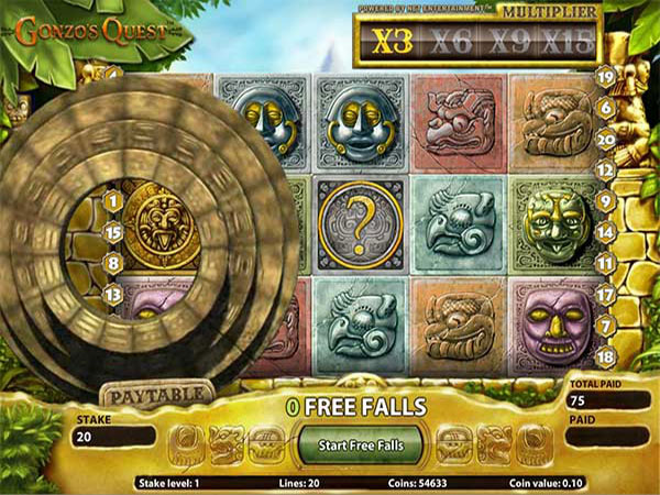 Gonzo Quest Freespins
