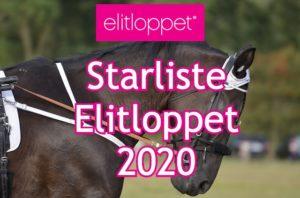 Starliste Elitloppet 2020