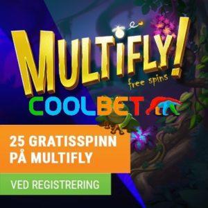 Coolbet Multifly gratisspinn