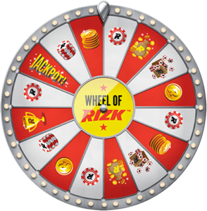 Wheel of Rizk spinn